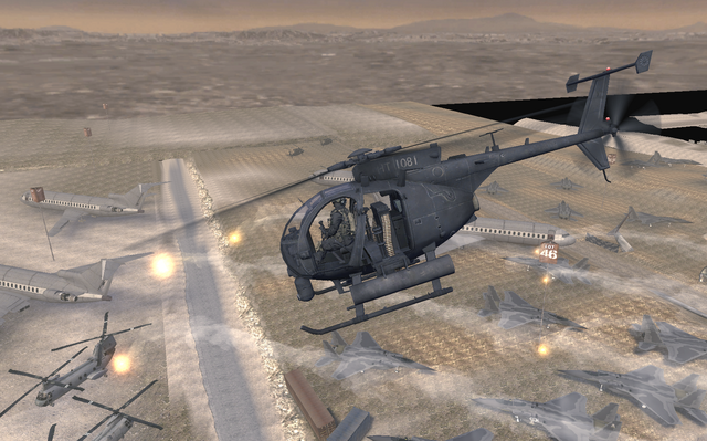 File:AH-6 Little Bird side view The Enemy of My Enemy MW2.png