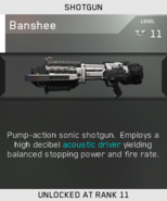 Banshee Unlock Card IW