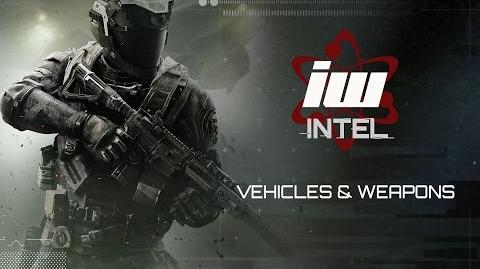 Call of Duty Infinite Warfare - IWIntel Vehicles and Weapons