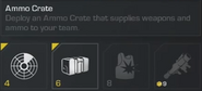 Ammo Crate Menu Description CoDG