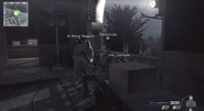 Rescuing the hostage Light Em Up MW3