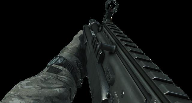 File:SCAR-L Shotgun MW3.png