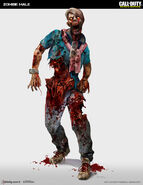 Male zombie concept IW