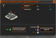 Communications Center Level 5 Upgrade Stats CoDH