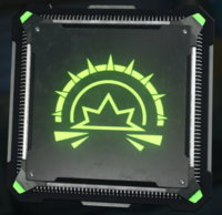 Concussive Wave cyber core icon BO3