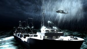 Estonian freighter Crew Expendable CoD4