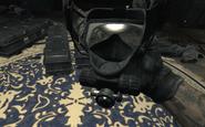 Yuri putting on Gas Mask Return to Sender MW3