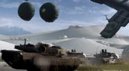 M1A2 Abrams tanks Severed Ties CoDG
