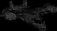 VTOL Warship Enemy BOII