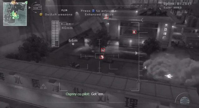 File:AC130 Overwatch PoV Special Delivery MW3.png