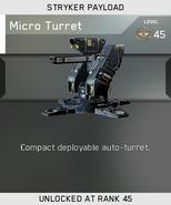 Micro Turret Unlock Card IW