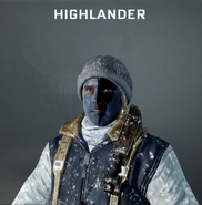 Highlander Face Paint BO