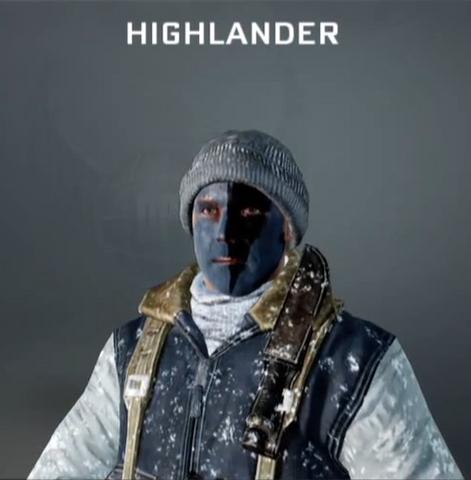 File:Highlander Face Paint BO.png