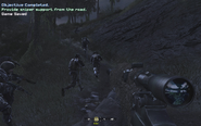 Proceeding uphill with Loyalists and SAS Blackout CoD4