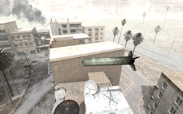 File:Airstrike bomb in flight map Crossfire COD4.png