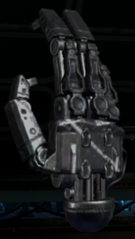 Defective robot hand collectible BO3