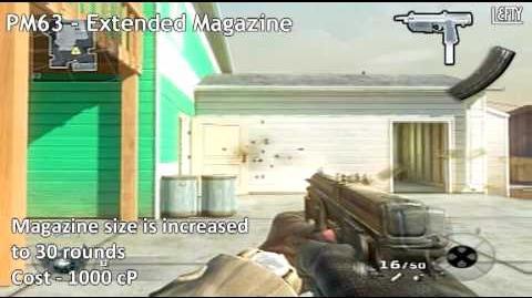PM63 Submachine Gun - All Attachments (Call of Duty® Black Ops)