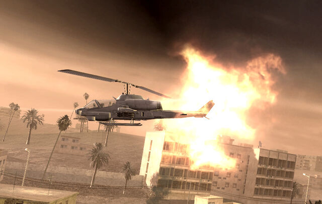 File:Pelayo's AH-1 Cobra being hit Shock and Awe CoD4.jpg