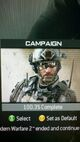 MW3 Campaign 100.3% Completed