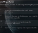 Portable Minigun Turret