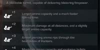 Portable Minigun Turret