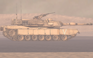 Abrams Side view Fire Base Phoenix MW2