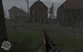 House to left of swastika house Approaching Hill 400 CoD2.png
