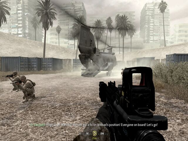 File:Heli extraction and end point War Pig CoD4.jpg