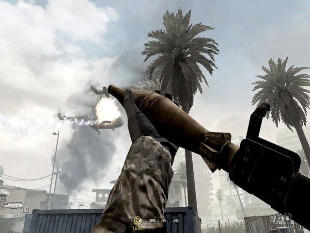 File:Reloading RPG and taking out second chopper War Pig CoD4.jpg