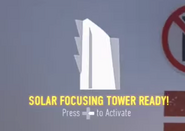 Solar Focusing Tower Ready CoDAW
