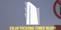 Solar Reflection Tower