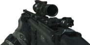 SCAR-L ACOG Scope MW3