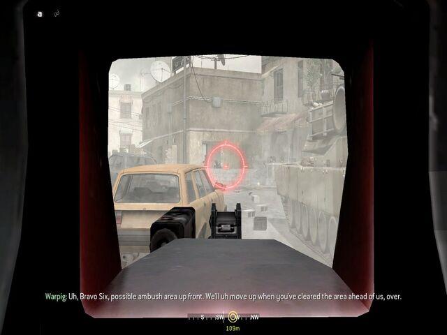 File:Taking out several enemies behind cover of tank War Pig CoD4.jpg