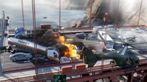 Golden Gate Bridge Battle AW