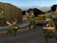 Benson, Ramirez, and Travis squad ambush DS MW3