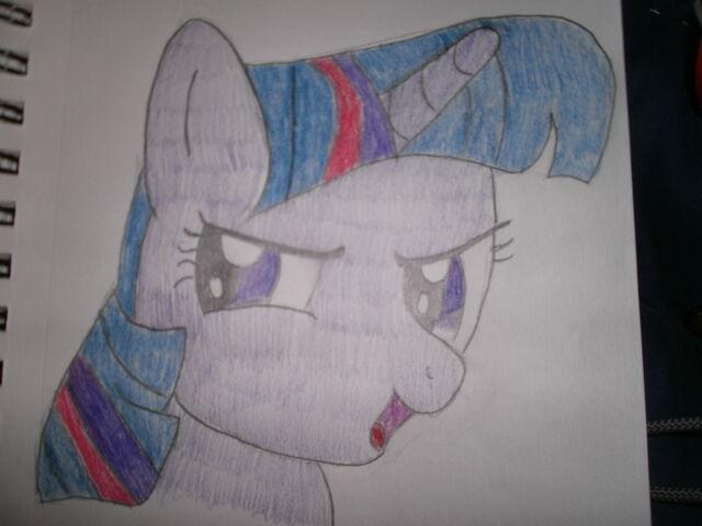File:Twilight Sparkle Hand Drawn.JPG