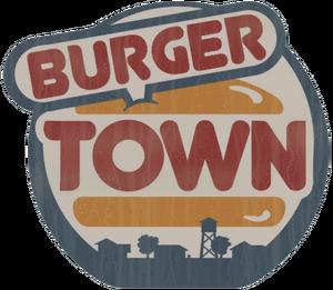 Burger Town logo MW2