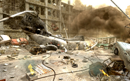 Downed Sea Knight Aftermath CoD4