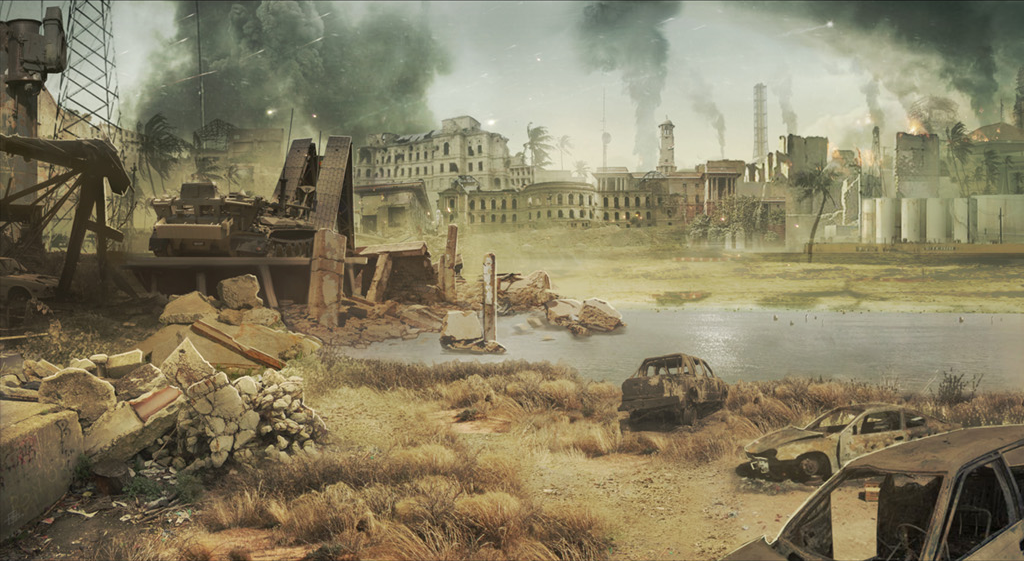 Image Tas Concept Art Wartorn City Mw2 Png Call Of