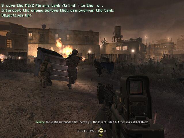 File:Vasquez crouching behind dumpster The Bog CoD4.jpg.jpg