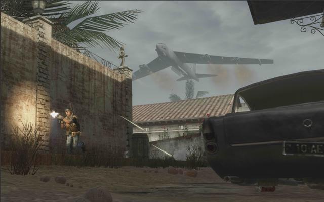 File:AdvancedRookie Villa B22 bomber flying overheard.png