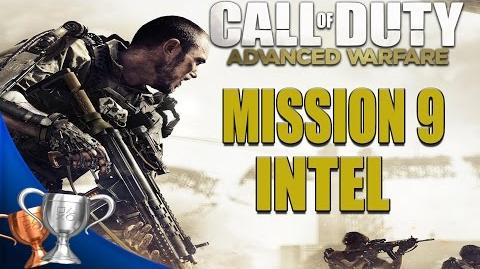 Call of Duty Advanced Warfare - All Intel Locations - Mission 9
