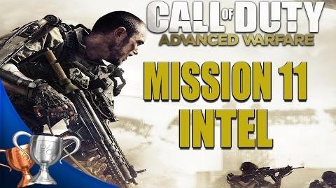 Call of Duty Advanced Warfare - All Intel Locations - Mission 11