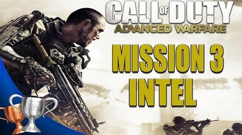Call of Duty Advanced Warfare - All Intel Locations - Mission 3