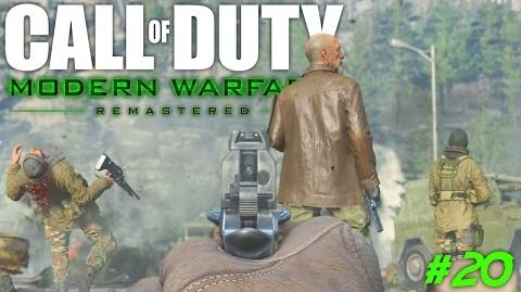 """Modern Warfare Remastered """"Game Over"""" (Campaign Walkthrough PS4)"""