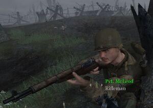 Pvt. McLeod Hill 400