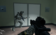 Entrance to lobby Charlie Don't Surf CoD4