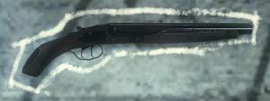 Sawed Off Shotgun Third Person BO