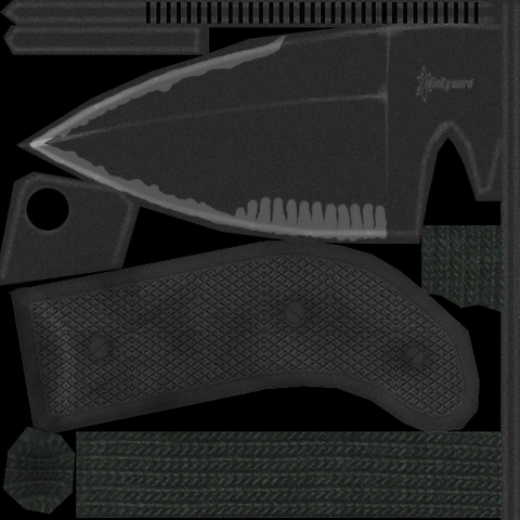 File:Throwing Knife texture MW3.png