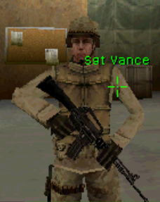 Vance First to Fight COD4DS